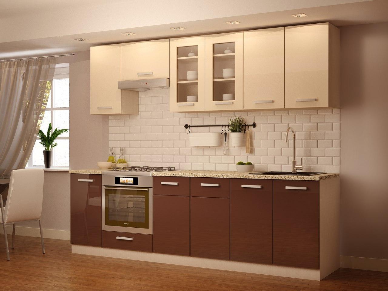 кухня низ шоколад верх ваниль фото анимированные графические